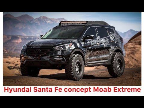 Hyundai Santa Fe Moab Concept Lifted Turbo Nitrous Sema 2017 Youtube