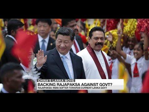 China's rising influence in Sri Lankan politics