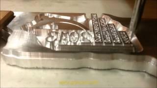 Изготовление клише(В данном ролике представлен процес изготовления типографского клише для тиснения. Тиснение — это поли..., 2013-12-10T21:13:52.000Z)