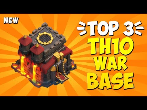 TOP 3 BEST TH10 WAR BASE 2019! Anti 2 Star Town Hall 10 War Base | Clash Of Clans #6