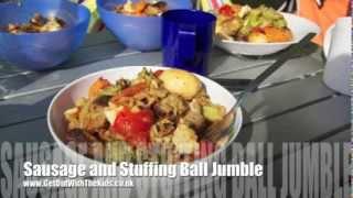 Sausage And Stuffing Ball Jumble