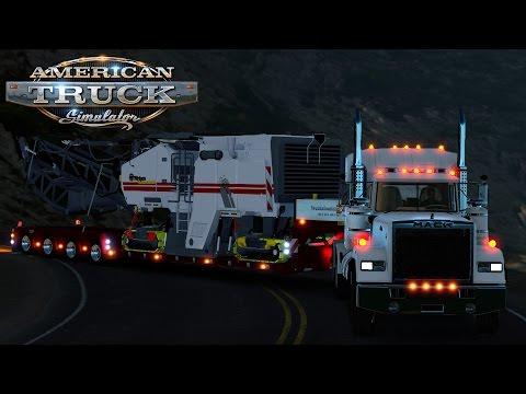 American Truck Simulator: Mack Superliner - Down the Million Dollar Hwy