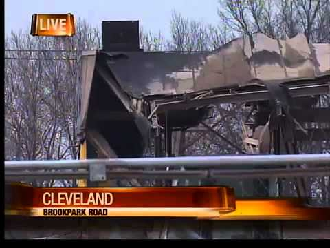 Cleveland building collapse
