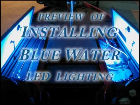 Boat Trailer Wiring >> Installing Blue Water LED Lighting by Way Kul Productions - YouTube