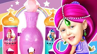 Шиммер и Шайн Волшебная Лампа Гигант Дворец Джиннов Fisher-Price Shimmer and Shine Magical Light
