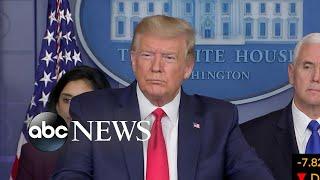 Trump invokes Defense Production Act in response to coronavirus   ABC News