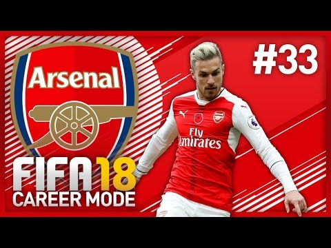 NORTH LONDON DERBY! FIFA 18 ARSENAL CAREER MODE - EPISODE #33