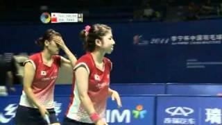 2011 li ning china masters badminton wd semi final fujii kakiiwa vs xia huan tang jinhua