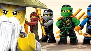 #5 Lego Ninjago WU CRU - Команда ВУ - Игра про Мультики Лего Ниндзяго - на русском языке