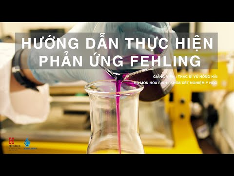 Phản ứng Fehling - The Fehling's test
