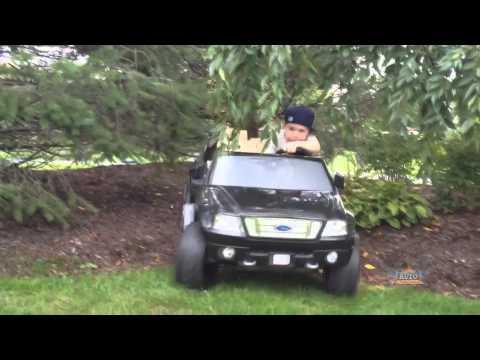 Kids 'n Kars Caleb C and his F150 Truck