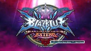 BlazBlue Continuum Shift Extend: Full Movie