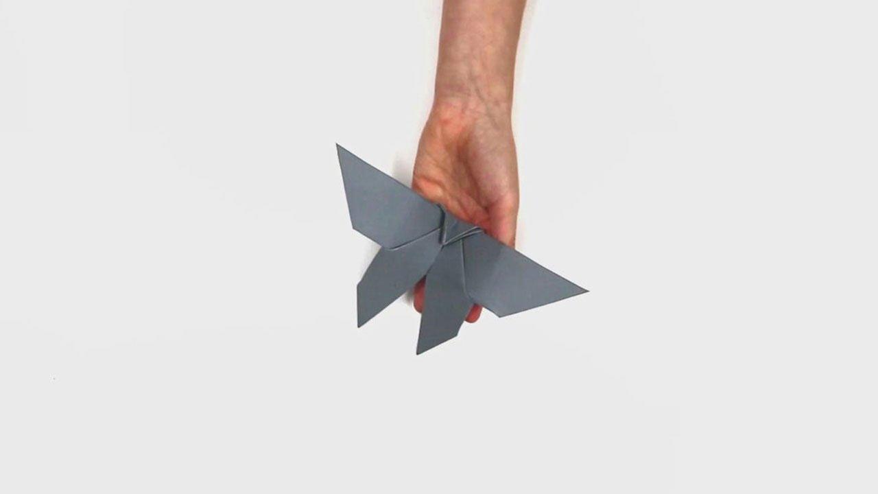 Famigros Papillon En Origami Youtube