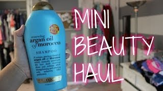 Mini Beauty Haul | Reese Regan Thumbnail