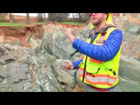 Geological Survey Video | New Images | Lake Oroville Dam Updates | 3-8-2017