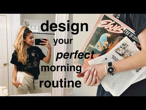 How to Design Your Perfect Morning Routine | Margot Lee