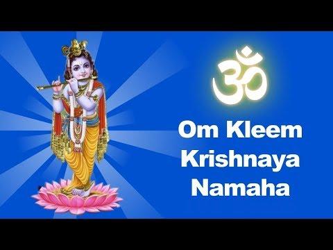 Om Kleem Krishnaya Namaha 1008 Times   Om Klim Krishnaya Namaha   Klim Krishnaya Namah   Kleem Mantr