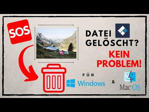 [SOFORTHILFE!] Verlorene Daten Wiederherstellen! Vom USB / PC / SD-KARTE [MAC/WINDOWS!] By.recoverit