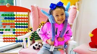Öykü school morning routine - Fun kids video