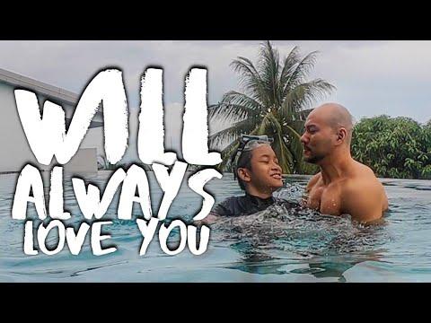 I LOVE YOU PAPA. RENANG KOK MAHAL AMAT!! (ME AND DEDDY CORBUZIER)