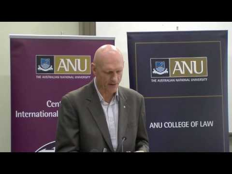 Australia's ambition for the conservation of whales: Peter Garrett MP at ANU