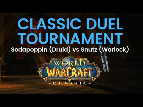 Sodapoppin Druid vs Snutz Warlock Classic Duel Tournament Round 3