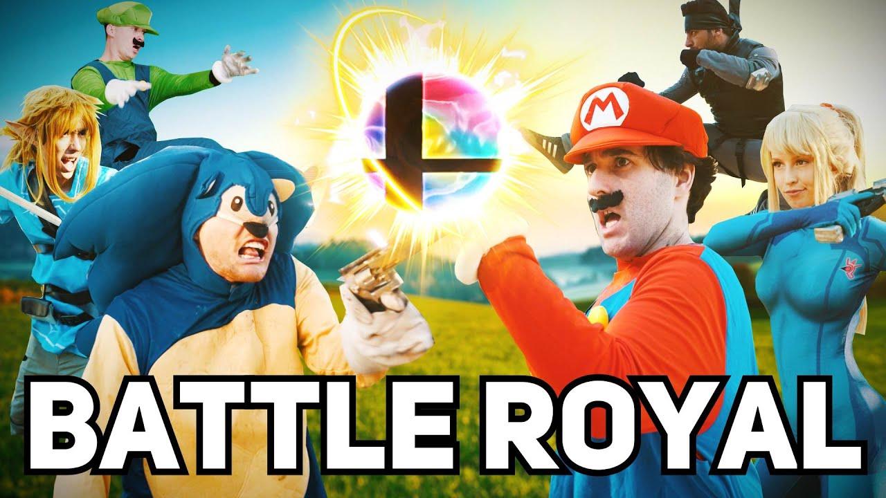 Super Smash Bros Battle Royale Youtube