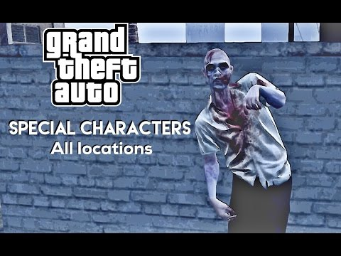 GTA 5 - Special characters locations Director mode unlocks