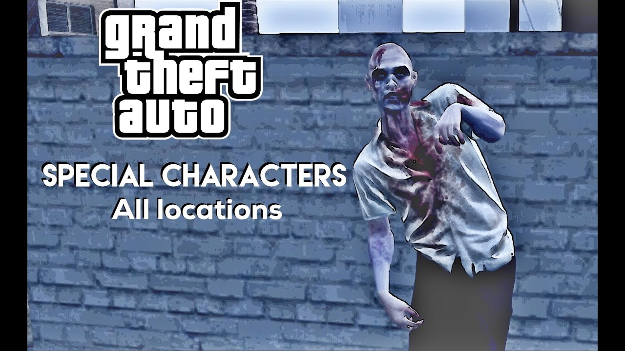 Gta  Special Characters Locations Director Mode Unlocks