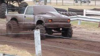 Trucks Gone Wild Tri Truck Challenge Bithlo Mud Racing half pint, size matters, and bashful