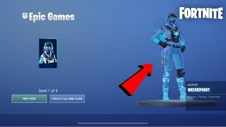 HOW TO GET BREAKPOINT SKIN HOW TO GET BREAKPOINT SKIN FOR FREE FORTNITE BREAKPOINT SKIN IS OUT NEW!