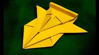 Космический корабль из бумаги. Оригами космический шатл(Танк из бумаги, космический корабль из бумаги, оригами самолет, оригами истребитель, кораблик из бумаги..., 2015-02-28T15:38:37.000Z)