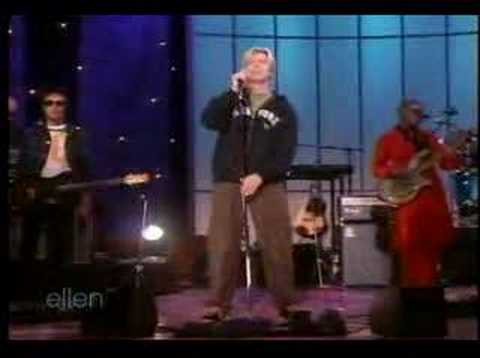 Bowie performing Changes