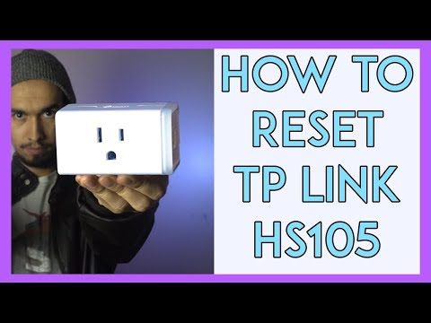 How to Reset Tp Link HS 105 Mini - YouTube