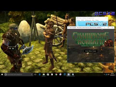 "CONFIGURANDO ""Champions of Norrath"" EMULADOR PS2 1.5 !! 60 FPS 100000000%"