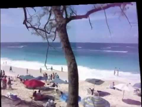 Carnival Ecstasy visits Cable Beach in Nassau, Bahamas - STABILIZED