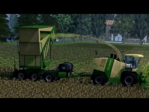 Farming Simulator 2013 Three Krone Big X 110 Cargo Corn Forage