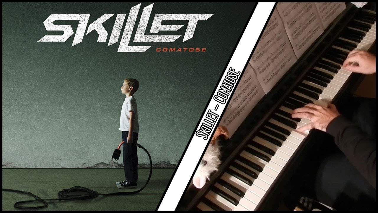 how to play comatose by skillet on piano
