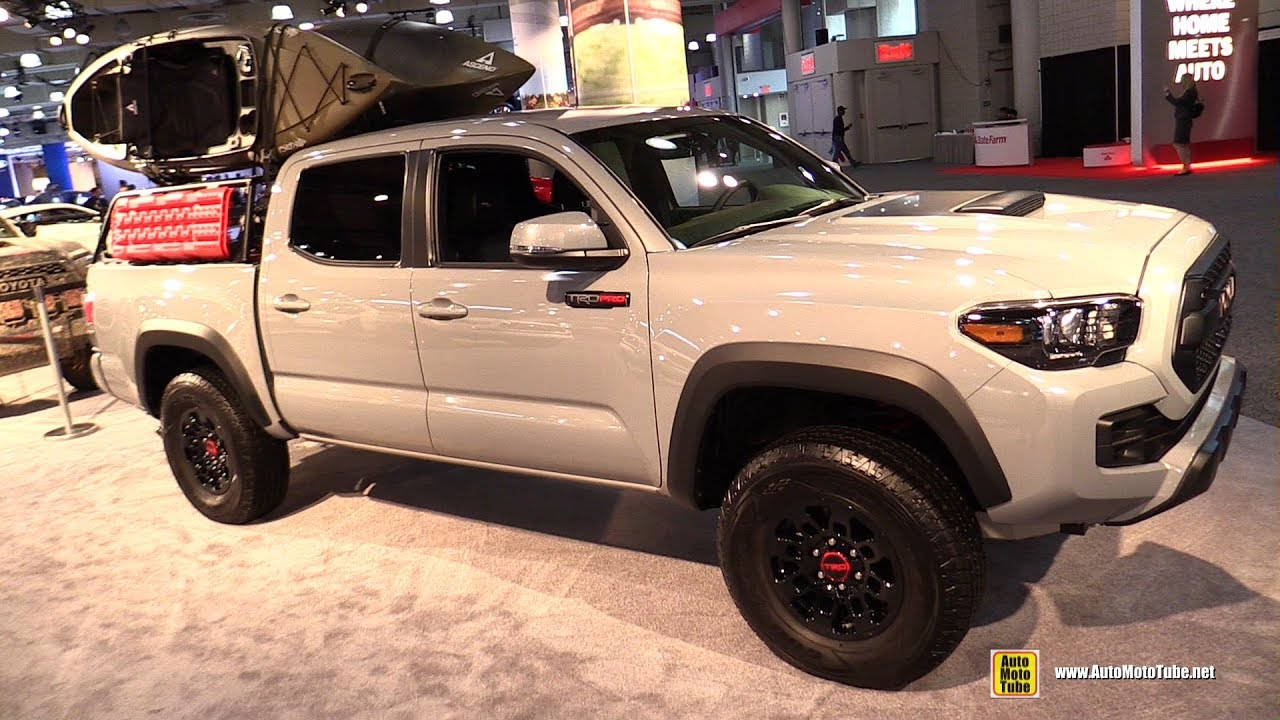 2017 toyota tacoma trd pro exterior and interior. Black Bedroom Furniture Sets. Home Design Ideas