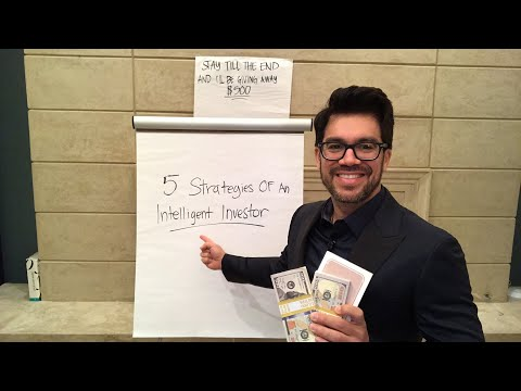 📚5 Strategies Of An Intelligent Investor📚  ‪tailopez.com/investingmoney‬