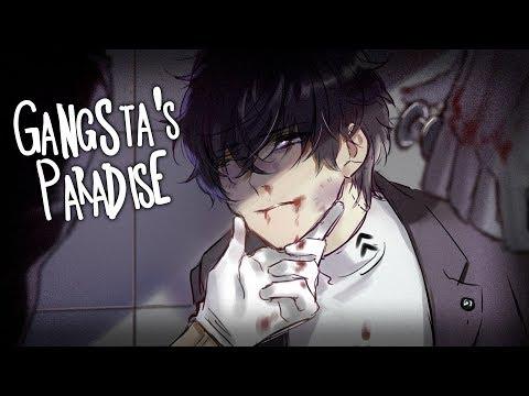 ◤Nightcore◢ ↬ Gangsta's Paradise [lyrics | COVER]