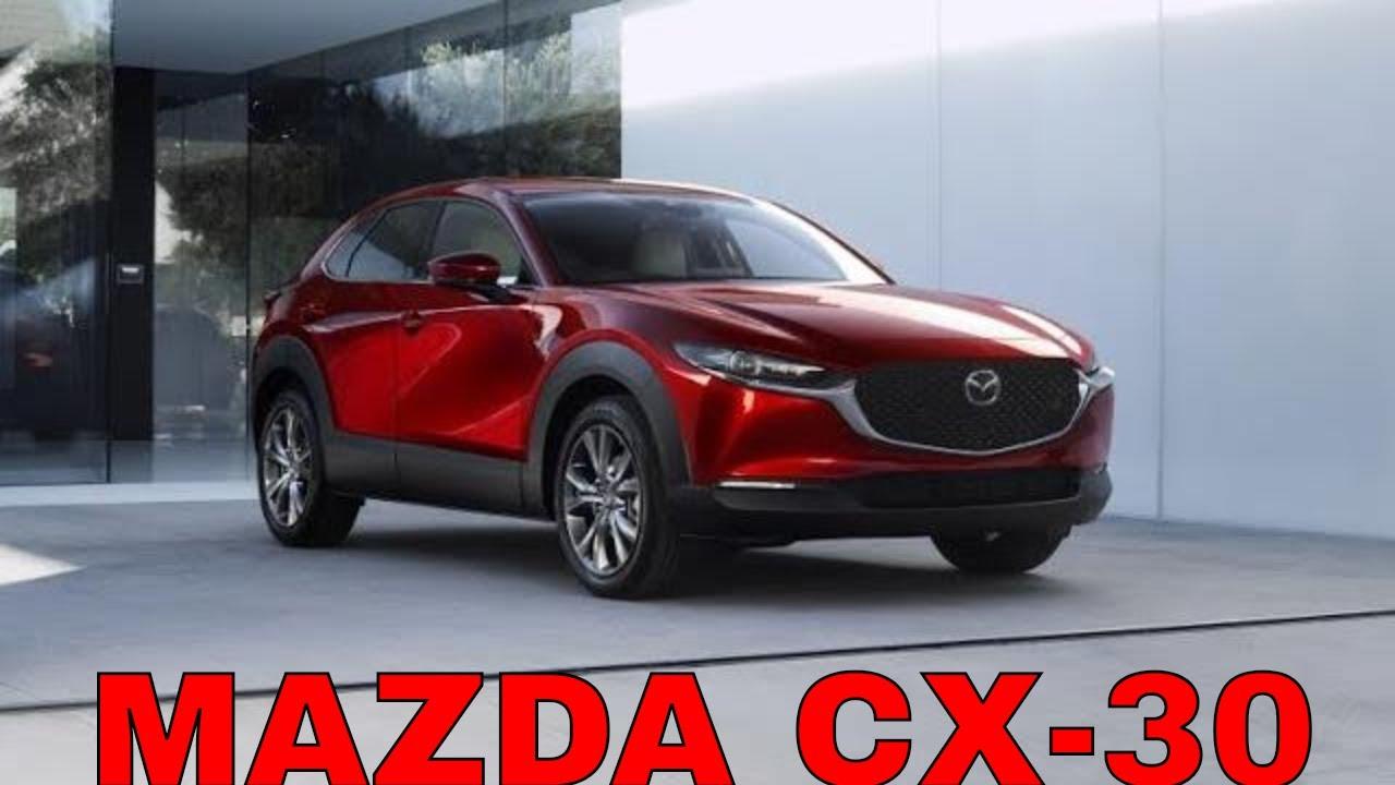 Новая MAZDA CX-30 (Мазда СХ-30), китайская Mazda CX-4? Женевский автосалон