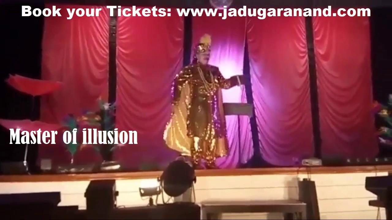 Magic Show in Jabalpur...Book your tickets from Website - www.jadugaranand.com