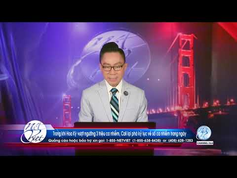 Hot News voi Thanh Tùng# 61_Jul 08 Trong khi HK vượt ngưỡng 3 triệu ca,CA lại phá kỷ lục  trong ngày