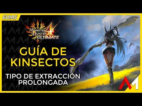 [Masa Guía] Monster Hunter 4 Ultimate - Kinsecto de Extracción Prolongada [Español]