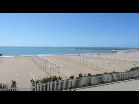 Scenic View of Mar Del Plata Main Beach Near Casino - Buenos Aires Province, Argentina