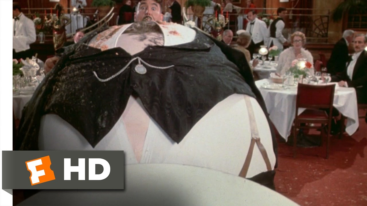 Download The Meaning of Life (10/11) Movie CLIP - Mr. Creosote Blows (1983) HD