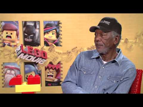 The Lego Movie: Morgan Freeman Exclusive Interview