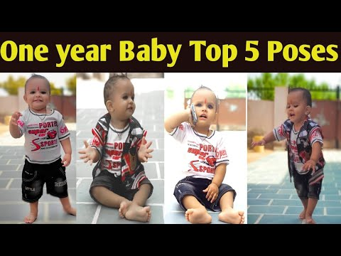 One Year Baby Amazing Photoshoot Ideas Best Baby Photo Shoot