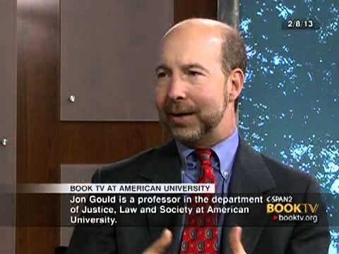 "Book TV: Book TV at American University: Jon Gould, ""How ... Jon Gould Mcw"